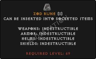 Zod Rune